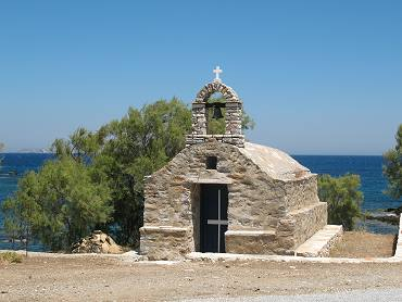Church at the east coastof Naxos